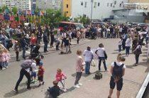 У Львові пройшла акція на підтримку популярного кафе, яке заснували переселенці із Криму