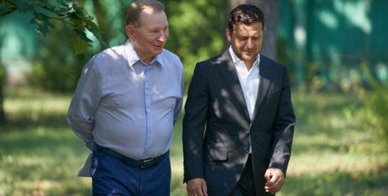 Кучма ушел из контактной группы в Минске