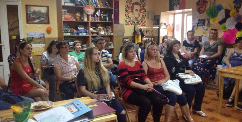 В Бердянске начались курсы веб для переселенцев